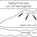 PDF Pattern for Fabric Pocket Organ..
