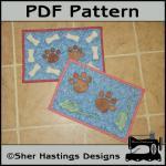 PDF Pattern for Dog & Cat Mat or Mi..
